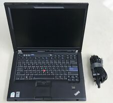 "IBM Lenovo ThinkPad R61 14"" Core 2 Duo 4GB Intel 120GB SSD Win7Pro Office2010Pro"