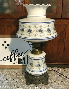 Vintage Quoizel Abigail Adams Hurricane Parlor Gone With The Wind Lamp Country F