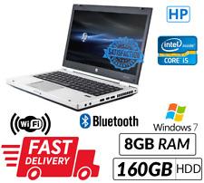 Cheap Laptop HP Elitebook 8460P Core i5 2nd Gene WebCam DVD Win 7 Fast Delivery