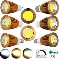 E12 MR16 GU10 E27 E14 B22 B15 Bright 9W 12W 15W Dimmable COB LED Spotlight Bulbs