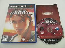 LARA CROFT TOMB RAIDER LEGEND - SONY PLAYSTATION 2 - JEU PS2 COMPLET