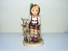 Goebel   Hummel    Little   Goat   Herder   200 /0   Bee  Stamp  From  1964 - 71