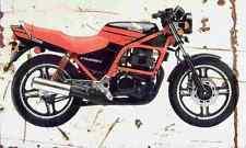 Honda CB450S 1987 Aged Vintage SIGN A4 Retro