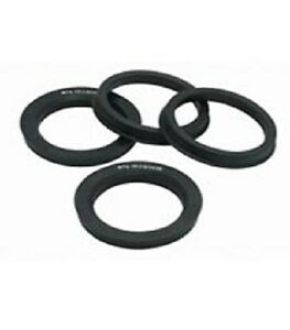 4 pc set 87mm to 78.10mm HUB CENTRIC RINGS