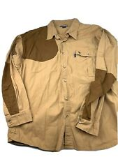 SBN Mens Beretta Shooting Button Front Shirt XXL padded right shoulder