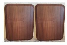 """Pack of 2 Solid Walnut Blank Wood Plaque 7-1/4"""" x 9"""" Only $11.95 each B30"""