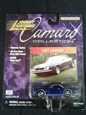 JOHNNY LIGHTNING CAMARO COLLECTION 1967 CAMARO 1/64 SCALE DIECAST SEALED Blue