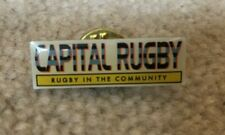 Capital Rugby metal badge, Rugby in the Community