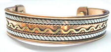 Bracelet Southwest Cuff Arthritis Relief Western Jewelry Handmade Copper IC