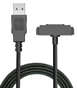 Black Rugged USB Charger/Sync Cable for Sonim XP5 XP6 XP7 XP5700 XP6700 XP7700