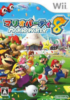 Mario Party 8 (2007) Nintendo Wii No Manual - Tested Good Working Condition