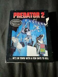 Predator 2 - ZX Spectrum 48K/128K ImageWorks  1991 Working Big Box Complete