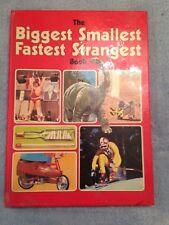 The Biggest Smallest Fastest Strangest Book / Cliff Andrew - 1976- Hardback Book
