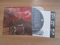 DIO / LOCK UP THE WOLVES,11 TRACKS RARE 1990 KOREA ORIG LP NM W/INSERT