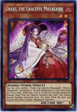 YUGIOH - Dakki, The Graceful Mayakashi - HISU-EN027 - Secret  Rare - 1st Edition