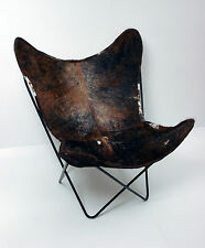 Classic Cover Cowhide Leather BKF Butterfly Chair - Only Cover.