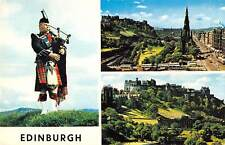 uk7619 edinburgh scotland  uk piper music