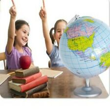 Inflatable World Globe Earth Map Geography Teacher Aid Ball Fresh Toy Gift 40cm