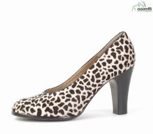 Varda Stenciled Pony Hair Heels Shoes Sz. EU 36.5/ US 6.5