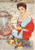 uralte AK italienische Schauspielerin, Fotografin Gina Lollobrigida //59