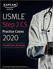 USMLE Step 2 CS Practice Cases 2020...PAPERBACK  Kaplan Medical