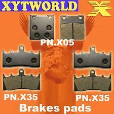 FRONT REAR Brake Pads for Suzuki GSXR 750 SRAD 1994-1999