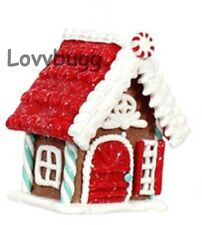 Gingerbread House for 18 inch American Girl Doll Holiday Food Accessory LOVVBUGG