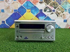 Onkyo CR-515DAB CD Receiver DAB Micro Shelf System (Silver)