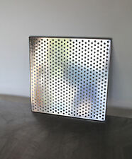 Perforated Stainless Steel Sheet 18 x 18 in - 18 Gauge - 3/8 Holes Shelf Grill