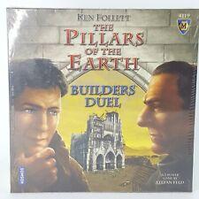 The Pillars of the Earth Builders Duel Ken Follett Mayfair Games 4119 Sealed