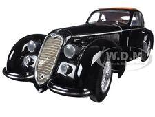 1938 ALFA ROMEO 8C 2900 B LUNGO BLACK 1/18 DIECAST BY MINICHAMPS 100120421