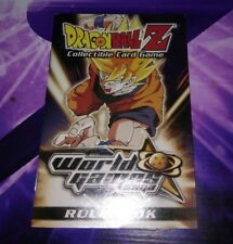 Rule book livre règle carte DRAGON BALL Collectible Card Game World saga dbz ccg