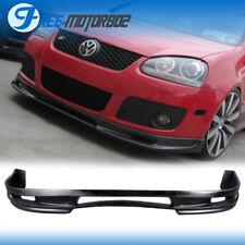 For 06-09 Volkswagen Jetta Golf GTI MK5 PU Type A Front Bumper Lip Urethane