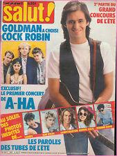 ▬►SALUT 282 (1986)COCK ROBIN_KIM WILDE_COMMUNARDS_LAHAYE_DAHO_BALAVOINE_A-HA