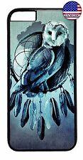 Owl Dream Catcher Feathers Bird Design Case Cover For Apple iPhone 7 / 7 plus