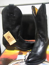 Tony Mora Womens Made in Spain Black Leather Western Boot 3405 Size 5  New