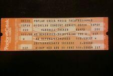 Marshall Tucker Ticket 8/11/1982 Chicago Poplar Creek Make An Offer!