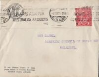 APH981) Australia 1925 small advertising cover for AASA Adelaide to Delamere.