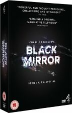 Black Mirror - Series 1-2 and Special [4x DVD] *NEU* Staffel Season 1 2 ENGLISCH