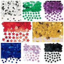 Star shaped metallic table confetti - Various Colours