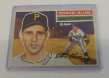 1956 TOPPS #94 Ronnie Kline EX CONDITION VINTAGE Baseball Card Pittsburg Pirates