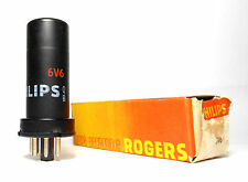 Philips 6V6 Nos Nib Metal Power Output Amplifier Tube