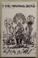 Walking Dead #150 Signed & Sketched TWD #19 Homage Of 1st Michonne NM!!