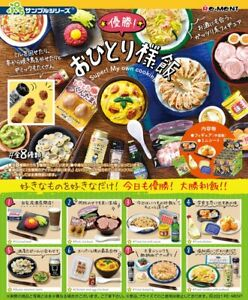 Re-Ment Miniature Petit Sample Super! My Own Cooking Meal Full Set 8 pcs Rement