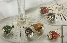 Imperial Court Wine Charms (Set of 6)
