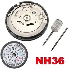 NH36 High Accuracy Automatic Mechanical Watch Movement Wristwatch Day Date