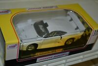 Anson Racing Porsche 911 Scale 1:18 White Diecast Car (Box has sun damage)