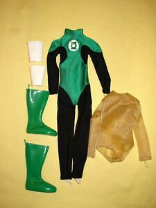 "Tonner - 2006 DC Stars Green Lantern 17.5"" Superhero Fashion Doll Outfit"