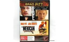 BABEL + THE MEXICAN - BRAND NEW & SEALED DOUBLE DVD (BRAD PITT, JULIA ROBERTS)