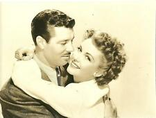 James Craig And Frances Gifford face close up 1940s vintage movie photo 8712
